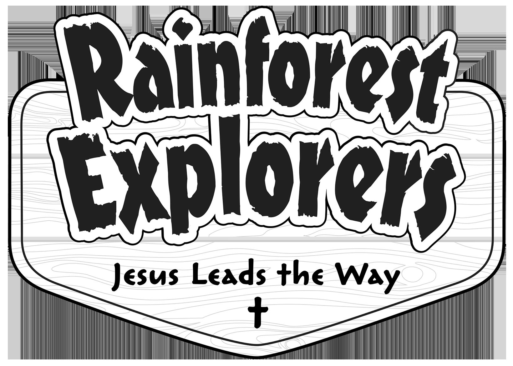Rainforest Line Art